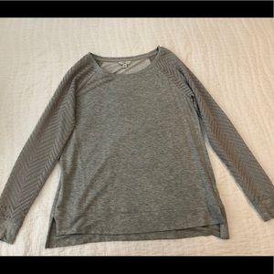 Lucky Brand gray sweater